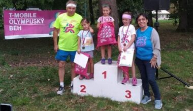 T-mobile Olympijský běh v Holešově se běžel letos v náhradním termínu