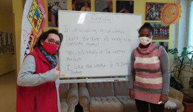 Angličtina s Aminou - počasí