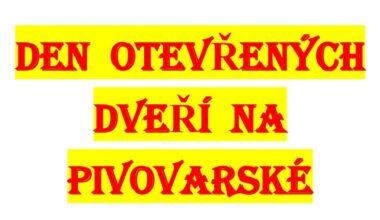 Den otevřených dveří na Pivovarské